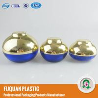 Newly Bowl shaped plastic acrylic cosmetic cream jars