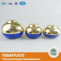 Newly Bowl shaped plastic acrylic cosmetic cream jars