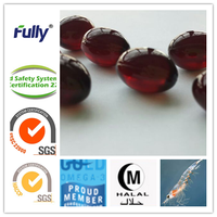 antarctic krill oil softgel with high astaxanthin