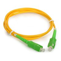 Fiber Optic Patch Cord SC/UPC-SC/UPC Singlemode Simplex G652D PVC 3m 2.0mm