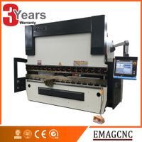 Brand new Delem DA66T CNC control system hydraulic press brake machine