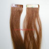 Top quality silky remy tape hair extension thumbnail image