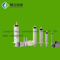 Disposable Medical Surgical Syringe, Plastic dental surgical syringe, dispensing surgical syringe