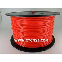 SGS ROHS certify 3D printing filament /PLA /Fluorescent colors