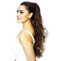 Long curly drawstring Wavy Ponytail Extensions