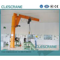 CJZ Series Pillar Mounted Slewing Jib Crane