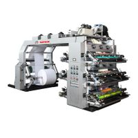 Stack type six colors flexo printing machine thumbnail image