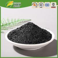 potassium humate flake (shiny black)