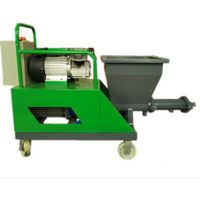 mortar cement spraying machine