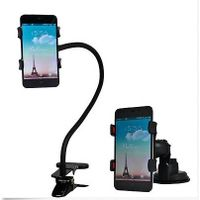 Flexible rotating mobile phone holder