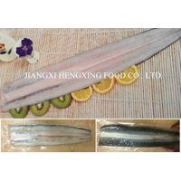 frozen eel fillet, gutted, headless, back-cut, deboned