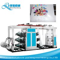 Chamber Doctor Blade Plastic Bag Flexo Printing Machine