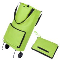 Promotion Gift Bag Foldable Supermarket Folding Shopping Trolley Bag thumbnail image