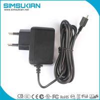 simsukian supply 12v 1a ac dc wall mount power adapter thumbnail image