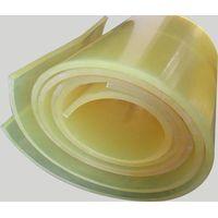 Blue 100% Polyether Polyurethane Pu Rubber Sheet 500mm ~1000mm Width