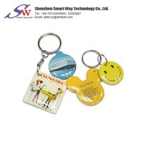 New Epoxy Customized Design Colorful RFID Keychain