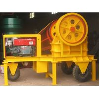 Mobile Jaw Crusher by using Diesel Engine PE250400