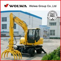 Confucius hometown shandong wolwa used excavator new excavator prices DLS880-9A