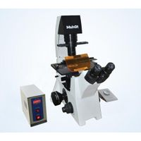 Inverted fluorescence microscope MF53 is scientific grade fluorescence microscope with phase contras