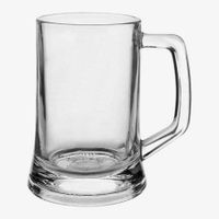 High quality beer glass mug with 16 OZ