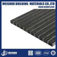 Aluminum dust control custom design entrance door mat