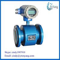 Electronic flowmeter/ Electromagnetic flow meter measure corrosiveness liquid