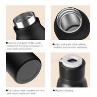 Aluminum water bottles remind to drink water good quality thermos flask magic thermoes water bottle thumbnail image