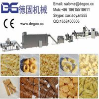 Automatic Corn Puff Snack Food Extruder Machine Production Line thumbnail image