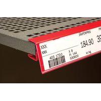 Price Label Holders for Wooden Shelves