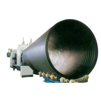 Large diameter HDPE Hollow Wind pipe production line