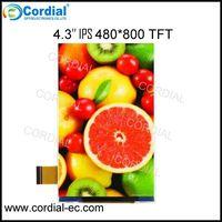 4.3 inch 480x800 IPS TFT LCD MODULE CT043BLP12