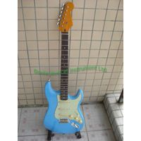 Vintage strat guitar alder guitar body one piece maple neck thumbnail image