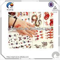 customize tattoo sticker trading company