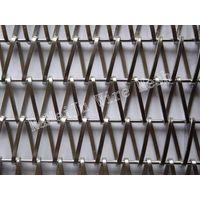 Flat wire mesh,decorative architectural mesh