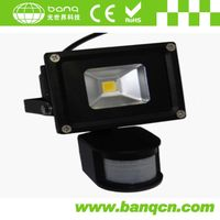 10W High Power LED Floodlight with Sensor
