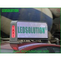 3G Taxi Top P5 Full color LED display