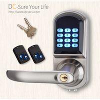 Keyless Entry Electronic Door Locks Remote Controller Code Lever Handle Door Locks Keypad Door Locks thumbnail image