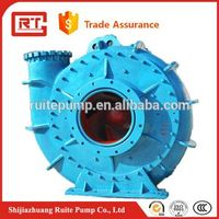 High quality sand gravel dredging pump manufacturer