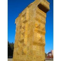 theme park rock climbing wall