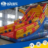 Top quality cheap inflatable slide, Dry slides