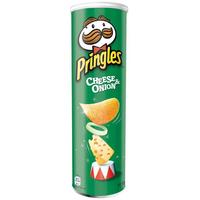 Pringles Cheese & Onion Crisps 190g thumbnail image