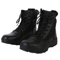 Waterproof Genuine Cow Leather Boots , cheap boot