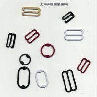nylon coated bra buckle ring slider hook
