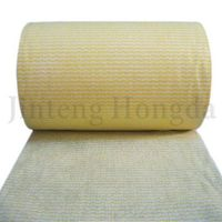 Consumable spunlace nonwoven cleaning cloth
