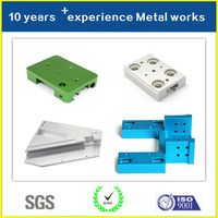 Custom CNC Machine Parts with Anodizing Manufactorer