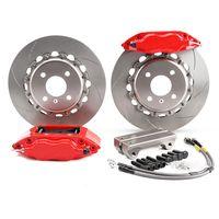China front axle modified brake caliper 7600 brakes 4 piston wheel hub 16 inches
