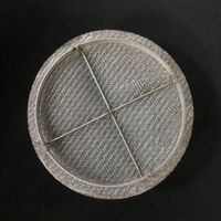 mist eliminator knitted metal filter wire mesh demister pads structured packing air liquid separator