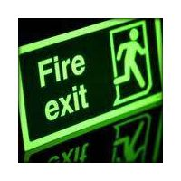 Emergency lightting@ Fire exit signs