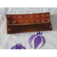 Leather Handcraft Business card case