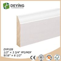 primed MDF & Wood baseboard mouldings